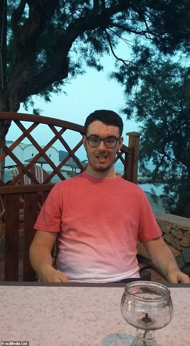 Jake, from Ludworth in County Durham, is studying to be a sports coach. He says: 'I'd always resigned myself to the idea that one day I'd go completely blind. 'I never believed there would be anything in my lifetime that could help'