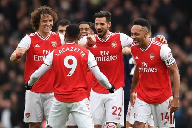 Alexandre Lacazette helped Arsenal defeat West Ham in the Premier League