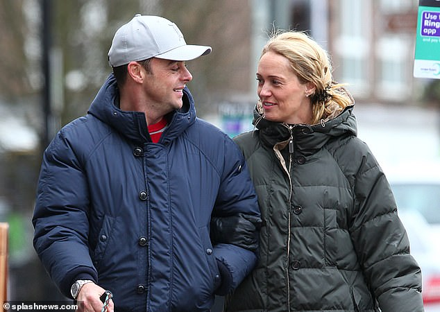 Love of his life: The host embarked on a relationship with his former PA, Anne-Marie Corbett, in 2018 (pictured earlier this month)