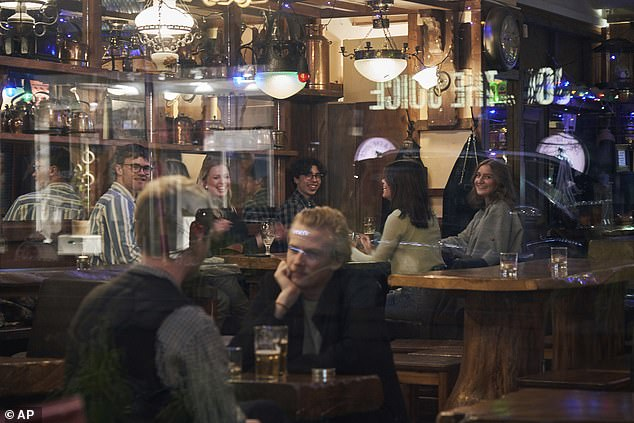 It's quite understandable that the Swedish government's maverick response to the coronavirus crisis is making many in the country feel uneasy, writes Paul Connolly (Pictured: Locals in a bar in Stockholm last week)