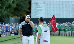 Shane Lowry at the 2016 US Open