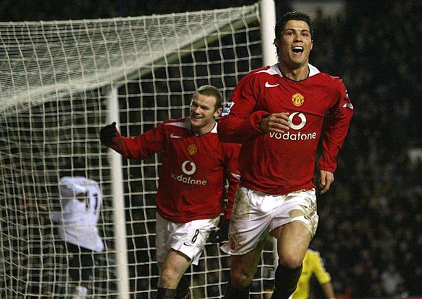 Ronaldo is remembered as a Manchester United legend
