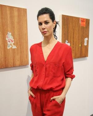 Billionaire collector Julia Stoschek.