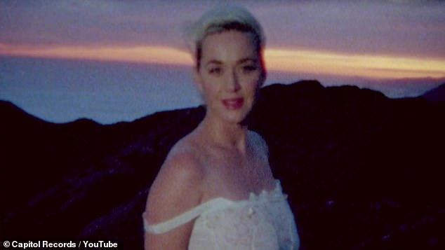 Katy Perry Strips Naked to Show Off Her Baby Bump in New
