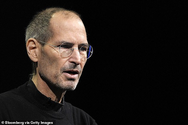Apple's late CEO, Steve Jobs, donned glasses with circular frames throughout the years. That style will allegedly be replicated in a limited edition version of Apple's upcoming AR glasses (stock)