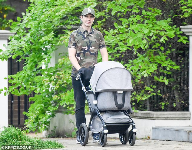 Jimmy Carr Cuts A Casual Figure In A Camouflage Top As He Pushes A Pram In London Amid Lockdown Newscabal No need to register, buy now! jimmy carr cuts a casual figure in a
