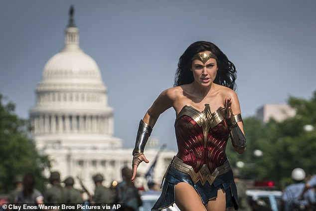 Superhero movie: Wonder Woman 1984 starring Gal, shown in a still, will be released in August