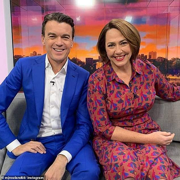 Contender: The breakfast TV ratings war has become a three-horse race for the first time in years thanks to the rising popularity of one-time underdog ABC News Breakfast. Pictured: co-anchors Michael Rowland andLisa Millar