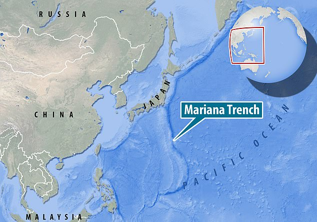 Mariana Trench, is about 124 miles east of the Mariana Islands off the coast of the Philippines, is already known to be the deepest spot in the Pacific Ocean