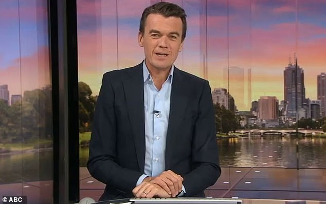 High-brow alternative: Michael Rowland (pictured) told TV Tonight on Friday that ABC News Breakfast's success was down to its more serious focus on news