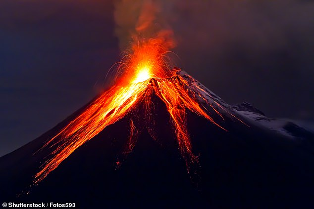Earth cooled rapidly 13,000 years ago and the reason behind this is a series of volcanic eruptions which caused the average global temperature to drop by 3°C, a study claims (Stock)