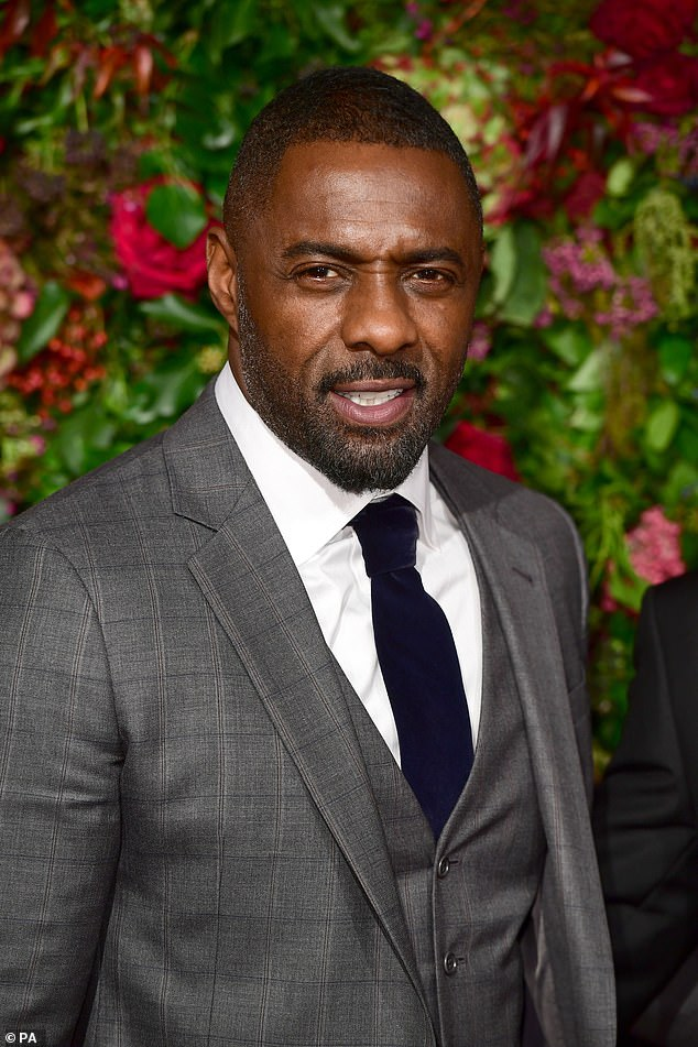 Speaking out: Idris Elbasays he does not agree with censoring old sitcoms because of modern sensibilities about race