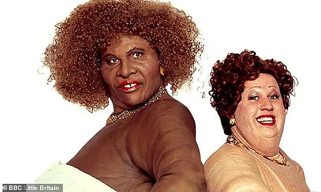 Criticised: Little Britain has been taken down from streaming sites because of scenes involving blackface
