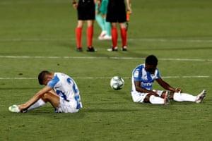 Agony for Leganés.