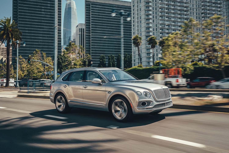 Top 10 Sustainable Luxury Cars for 2020: Bentley Bentayga Hybrid