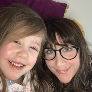 Jessica Barker and her daughter Maisie