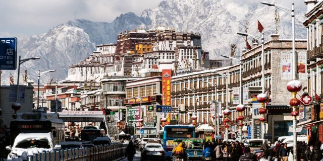 Lhasa, the capital of Tibet