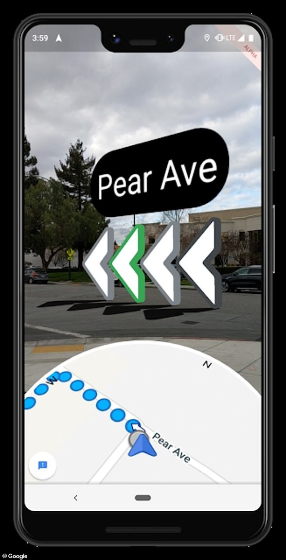 Augmented reality in Google Maps helps users get to their destination