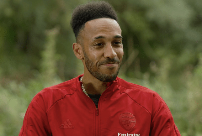 Pierre-Emerick Aubameyang speaks to Arsenal's website ahead of their Premier League clash with Liverpool