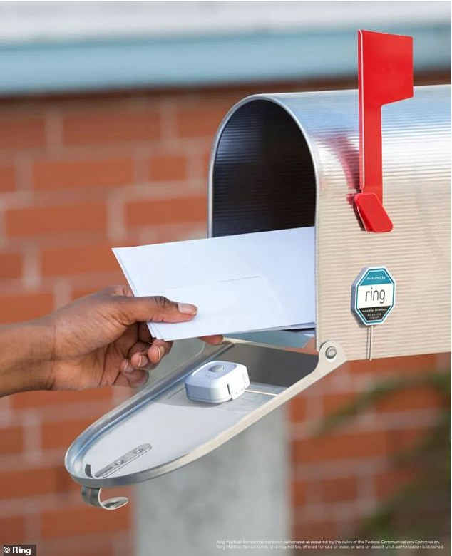 Amazon has designed a new Ring sensor that sits inside a mailbox and alerts users when it is opened or closed – allowing them to keep their mail safe and secure.The Mailbox Sensor pairs with the Ring app, allowing customers to receive real-time alerts, and is equipped with a camera that activates when the postbox is opened