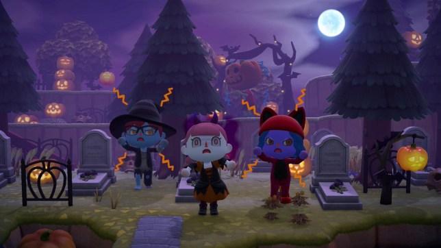 Animal Crossing: New Horizons Halloween update