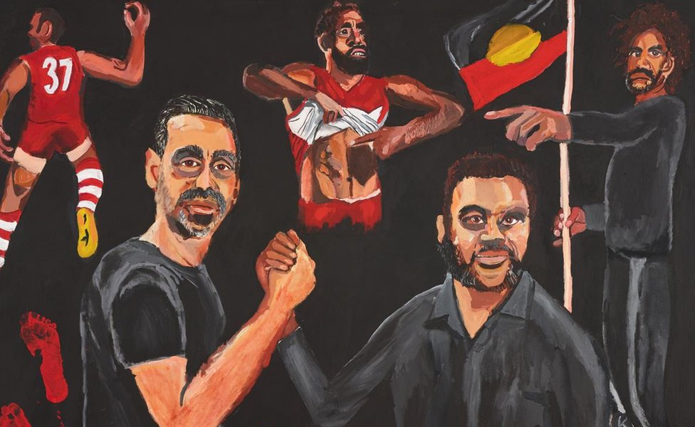 Archibald Prize 2020 winner Vincent Namatjira Stand strong for who you are