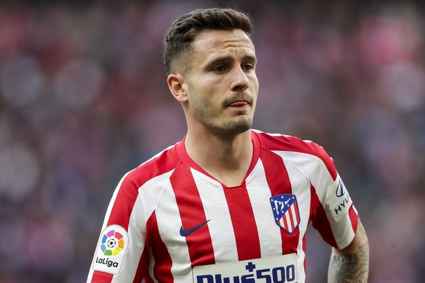 Chelsea are eyeing a move for Atletico Madrid midfielder Saul Niguez