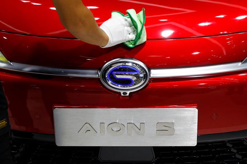 © Reuters. Beijing International Automotive Exhibition