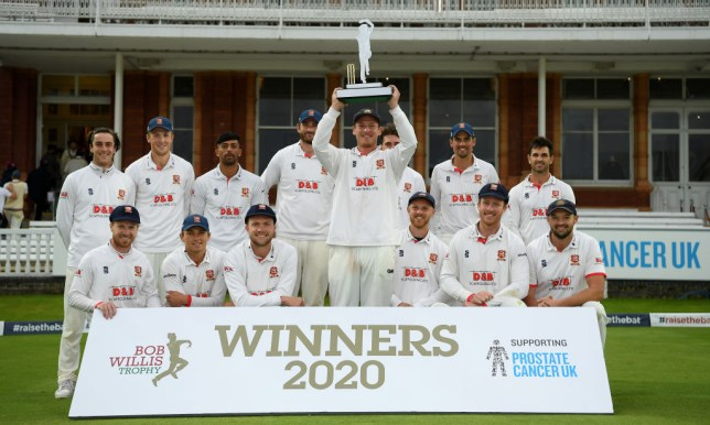 Essex defied Somerset to win the Bob Willis Trophy