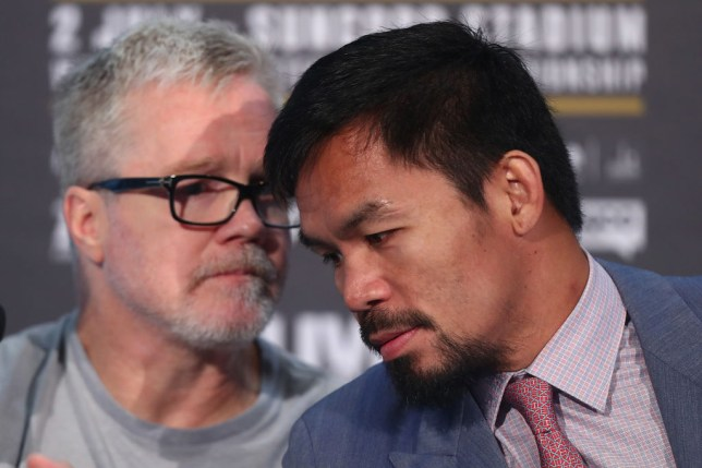 Manny Pacquiao & Jeff Horne Press Conference