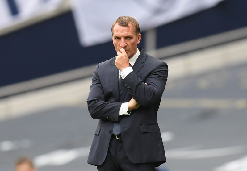 © Reuters. Premier League - Tottenham Hotspur v Leicester City