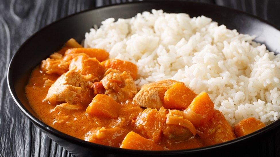 Domoda, a Gambian peanut stew
