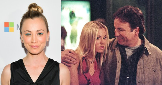 Kaley Cuoco and 8 Simple Rules co-star John Ritter