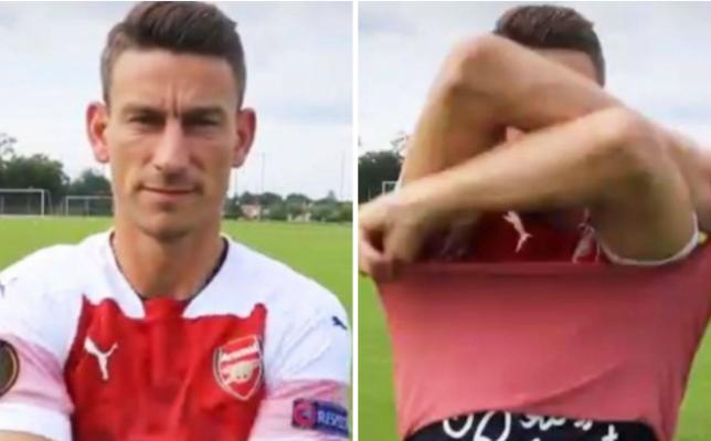 Laurent Koscielny left Arsenal in acrimonious circumstances last summer