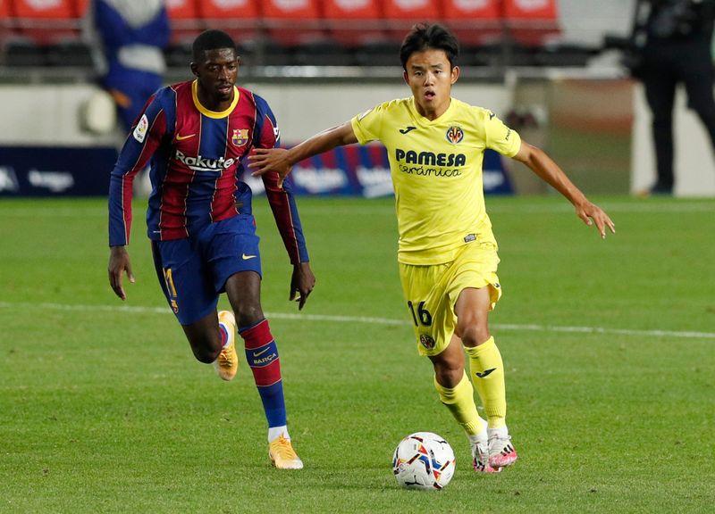 © Reuters. La Liga Santander - FC Barcelona v Villarreal