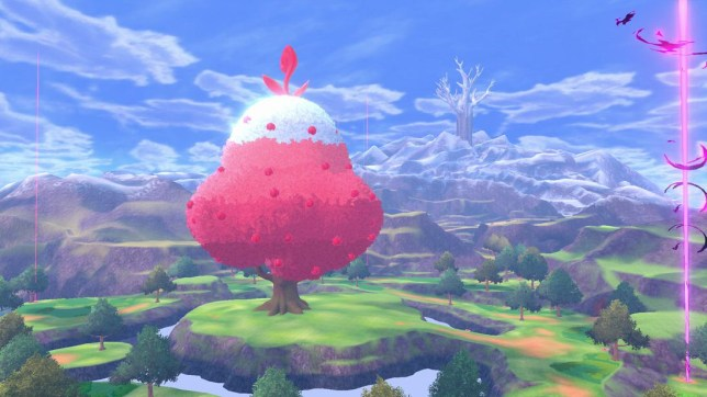 Pokemon Sword and Shield The crown Tundra