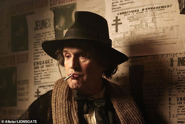 Rupert Everett is pictured above as Oscar Wilde in The Happy Prince.After a few more disastrous meetings, I realise that absolutely no one is interested in getting into the 'Rupert Everett business' as they say in the States. I leave without a single deal. But the film refuses to die, and somehow we manage to raise nine million euros