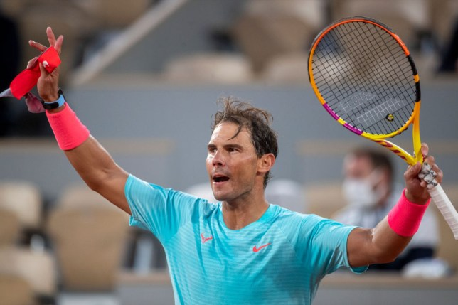 French Open legend Rafael Nadal made light work of his first-round clash
