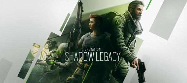 Rainbow Six Siege: Shadow Legacy key art