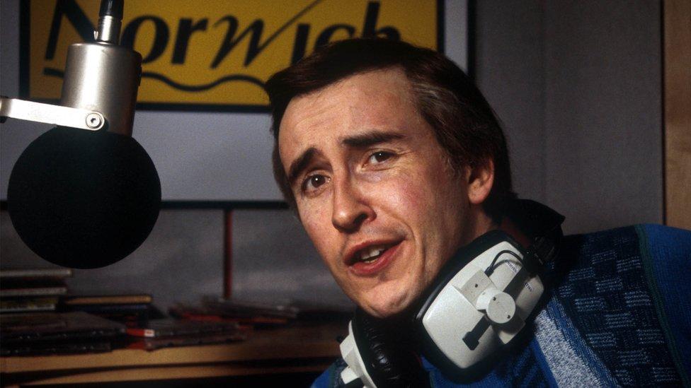 Alan Partridge in 1997