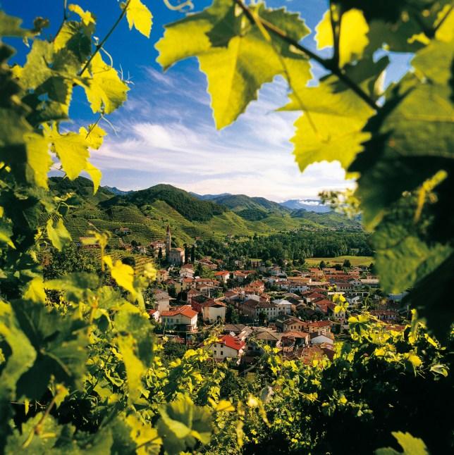 Colbertaldo, Veneto, Italy.