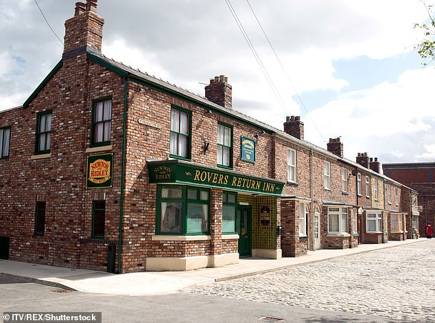 Affected: It comes after Coronation Street bosses were forced to reschedule production when a member of the cast tested positive for Covid-19 after being on set last week