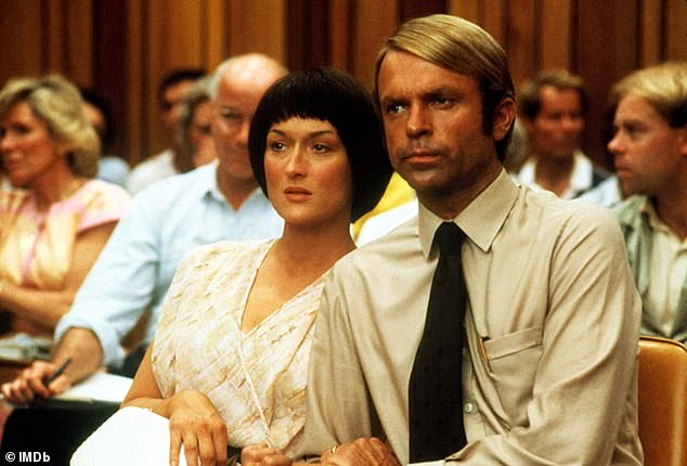 Role:It's a subject close to Sam's heart, as he starred in the 1988 film Evil Angels, in which he played Michael Chamberlain, alongside Meryl Streep, who played his wife Lindy. Pictured is a scene from the film