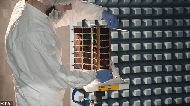 The nanosatellites, which received more than £6 million in funding from the UK Space Agency, will join more than 100 other space objects providing support to maritime trade