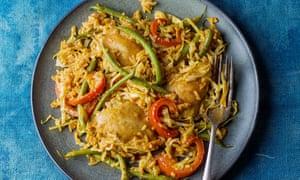 Chicken jollof rice by Marcus Samuelsson.