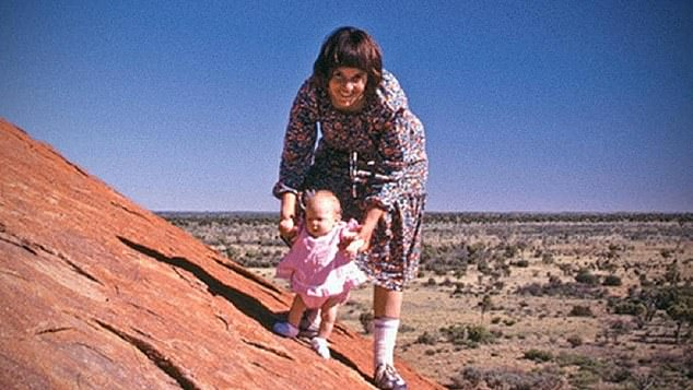 Sam added: 'But this was the moment a mother lost her child and I go, 'Look, you know what? That isn't funny. That isn't funny at all'. I like to make people think about that. That it's a horrible thing,' adding firmly, 'and I won't stand for it.' Pictured: Lindy and Azaria Chamberlain in 1980