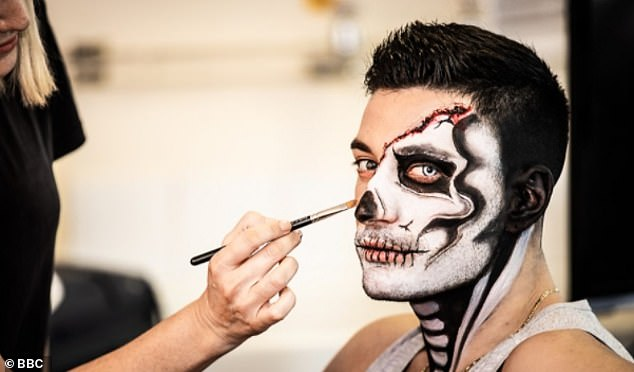 'They'll be working with full PPE': Sarah also discussed how hairdressers and make-up artist have had to adjust to the new guidelines as she added (Giovanni Pernice pictured in 2018)