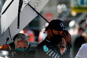 Hamilton, maybe in trouble.