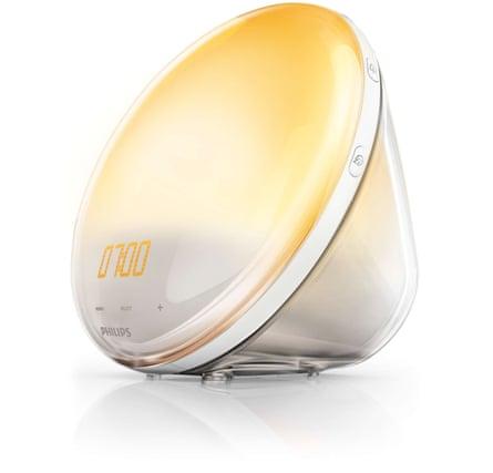 Philips' standard wake-up light (HF3520).