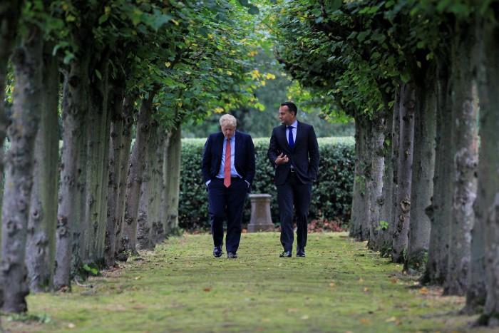 Leo Varadkar, former Irish prime minister, has criticised Boris Johnson's attempt to break international law on Brexit